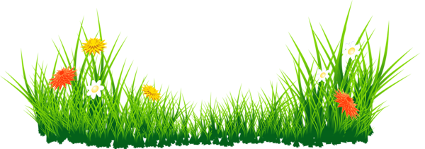 Lawn vector simple. Landscaping banner black