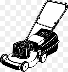 Mowing clipart vector. Lawn mower png vectors