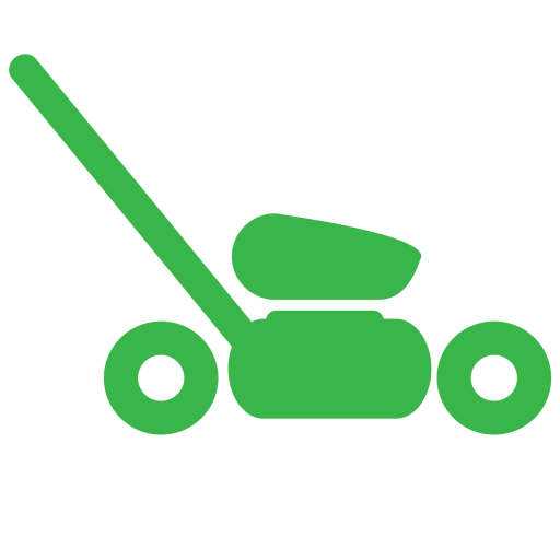 lawnmower clipart green
