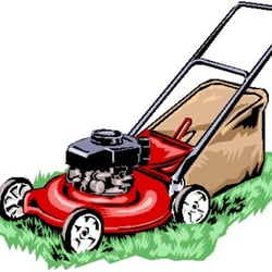 Lawnmower clipart landscaping. Young s kc mower