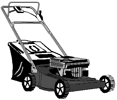 Lawnmower clipart landscaping. Free gardening images graphics
