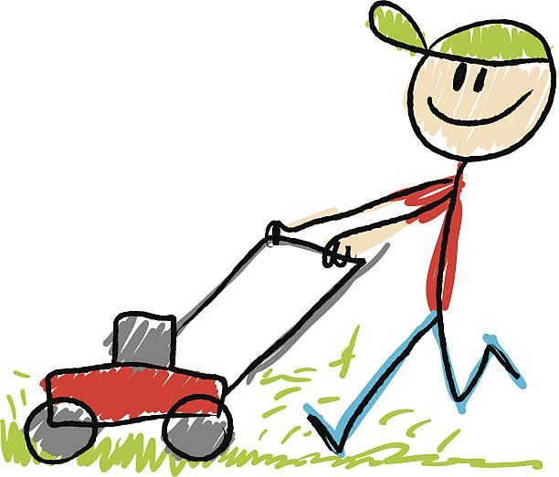 Mowing clipart lawn care. Unley and gardening services