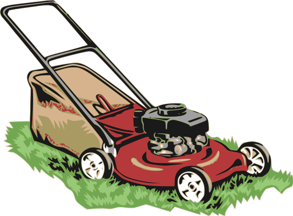 Graphic huge freebie. Lawnmower vector transparent banner royalty free library