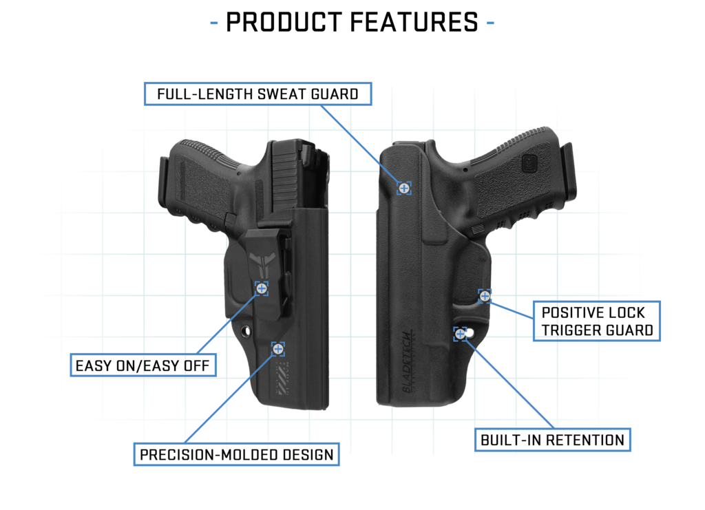 Lc9s clip ruger lcp. Klipt blade tech holsters