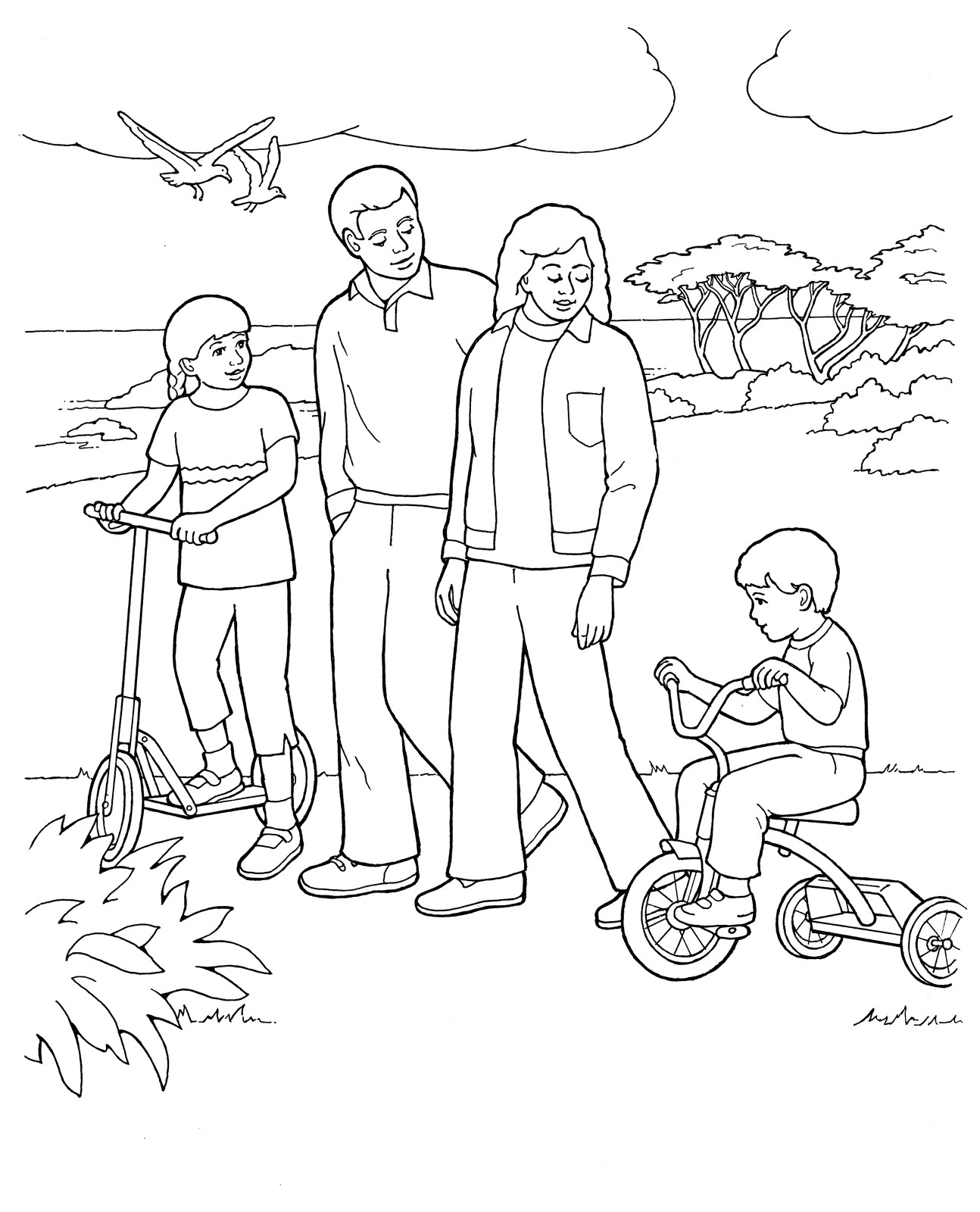 Free to color for. Lds clipart coloring page picture freeuse