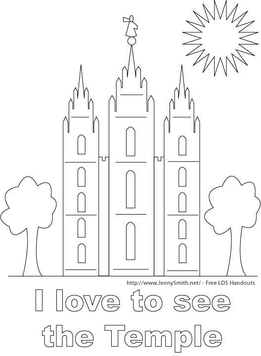 Lds Coloring Page Transparent Png Clipart Free Download Ya Webdesign