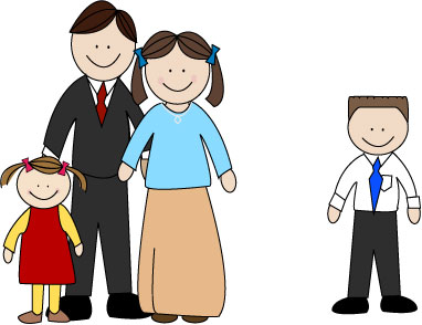 Lds clipart family. Mormon share with boy