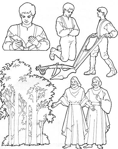 Lds clipart joseph smith. Perfect for religious knot