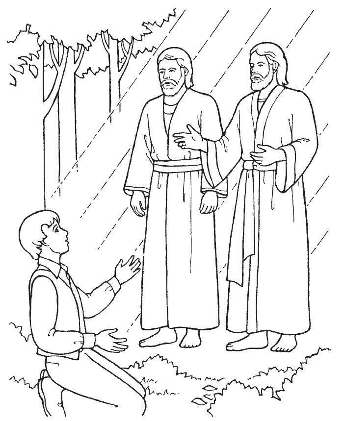 Lds clipart joseph smith. First vision activities google