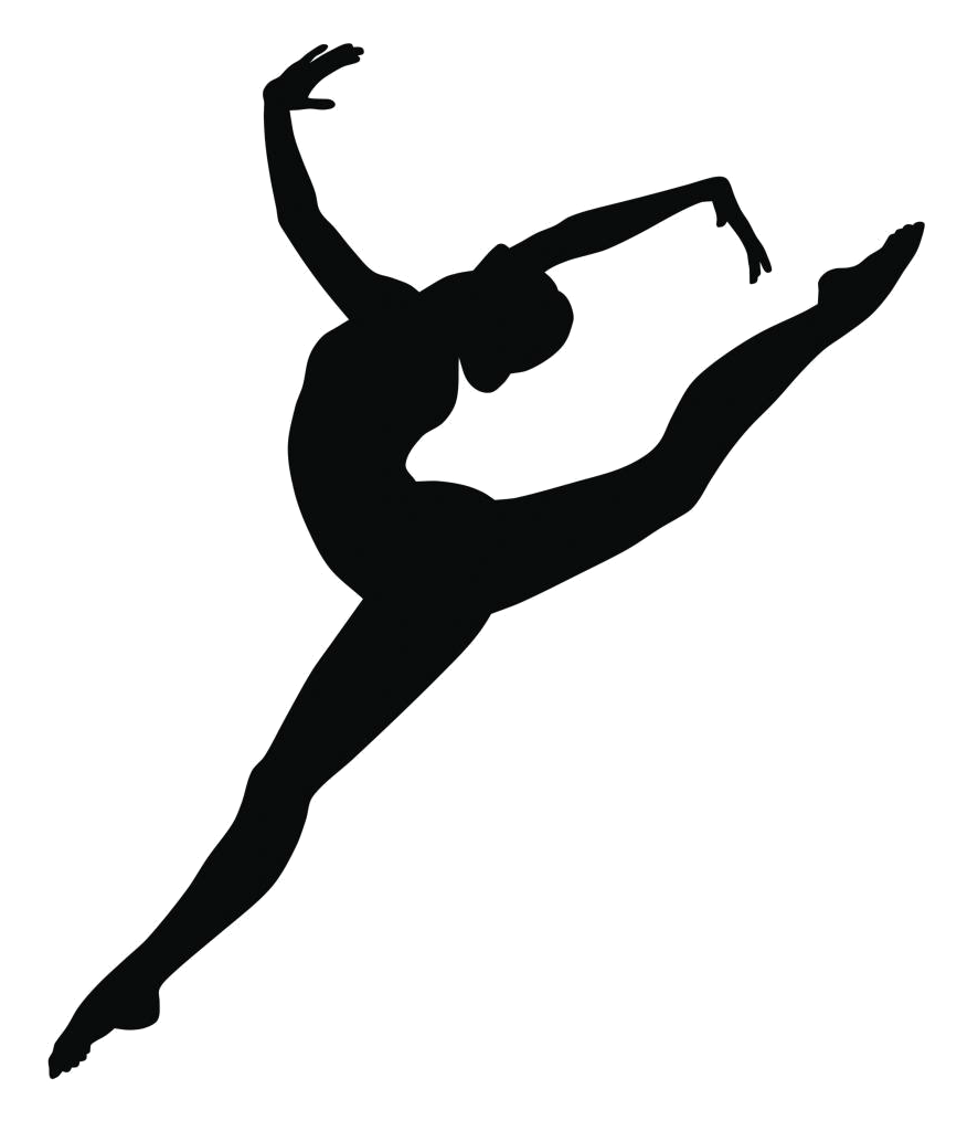 Lead drawing modern dance. Professional faculty fusia center