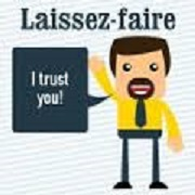 Leader clipart laissez faire. Leadership and management gwladystchuenkwo