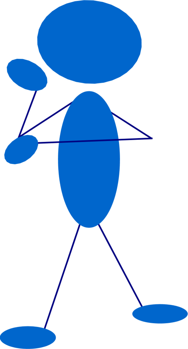 Movement clipart people. Free picture of thinking