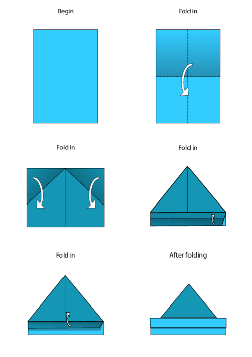 Origami Boat Instructions | Free Printable Papercraft Templates | 707x500
