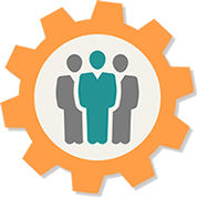 Leadership transparent team. Free icon png download
