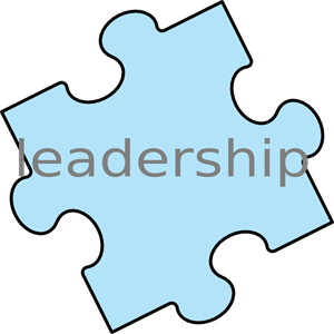 Leadership vector clipart. Puzzle piece png svg
