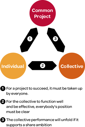 Leadership vector intelligence. Develop collective and unlock