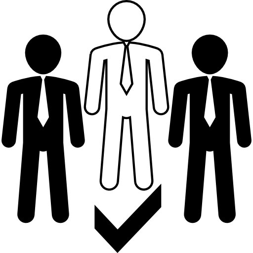 Leadership vector leading. Free business icons icon