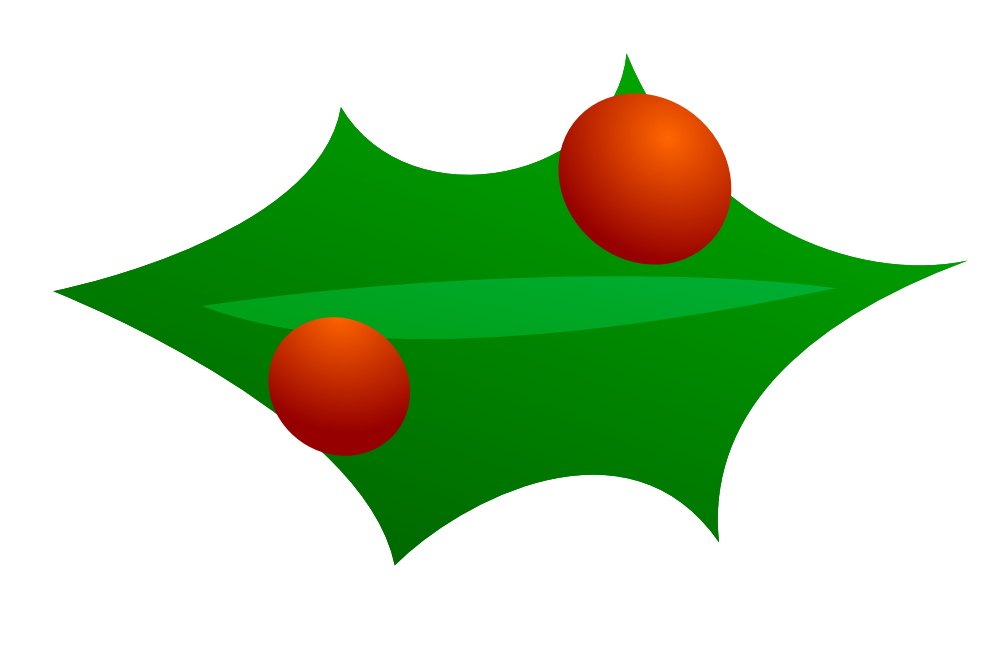 Christmas decoration xmas holiday. Leaf clipart ornament image royalty free