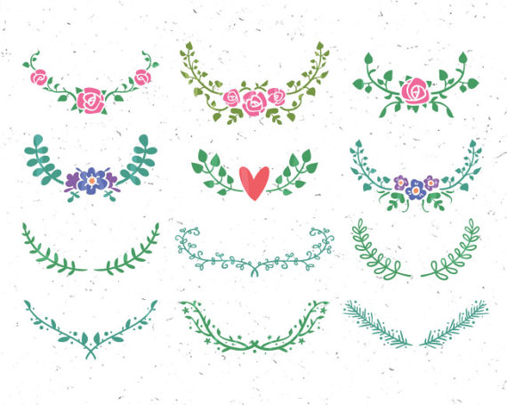 Floral svg ornaments wedding. Leaf clipart ornament clipart free library