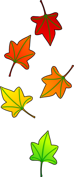 Leafs falling png. Leaves clip art at