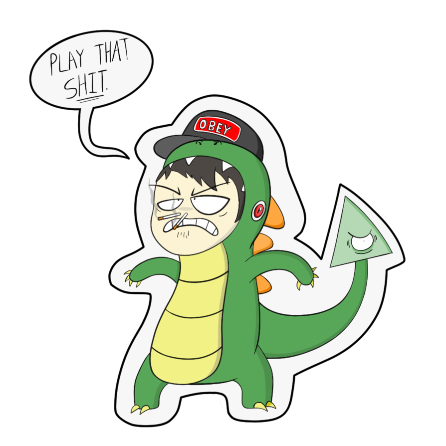 Leafyishere lizard png. Tribute to the mighty