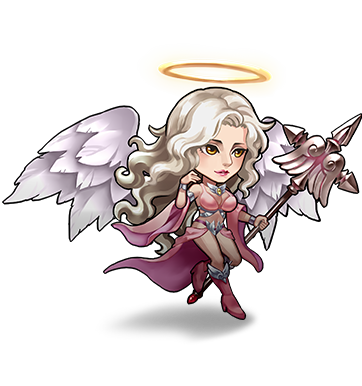 League of angels alecta png. Chibi angel fortuna by