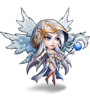 League of angels athena png. Chibi angel by kongouarpeggio