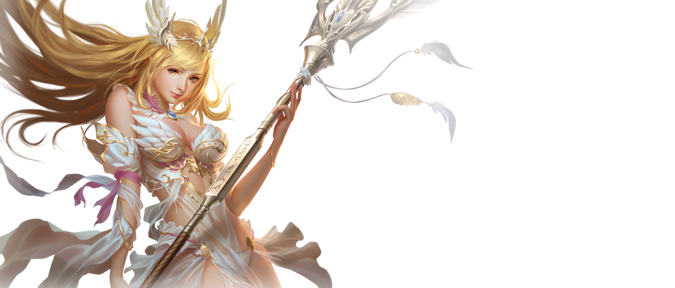 League of angels athena png. Official website from com