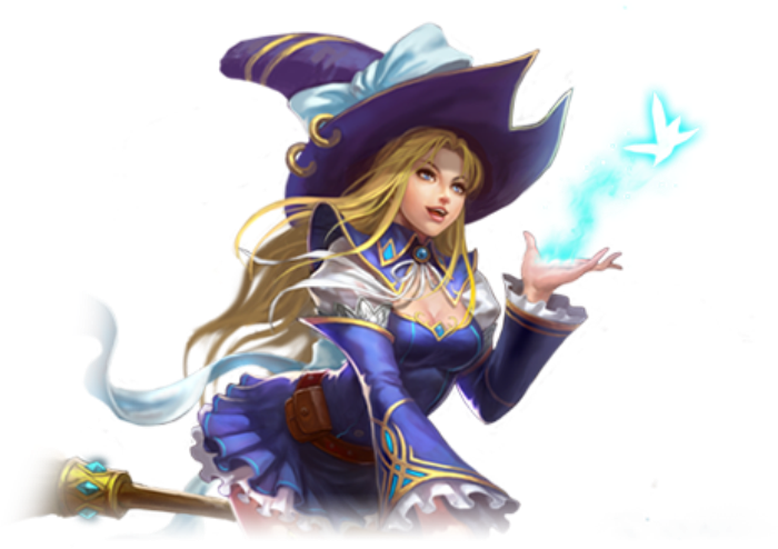 League of angels png. Image blue witch wiki