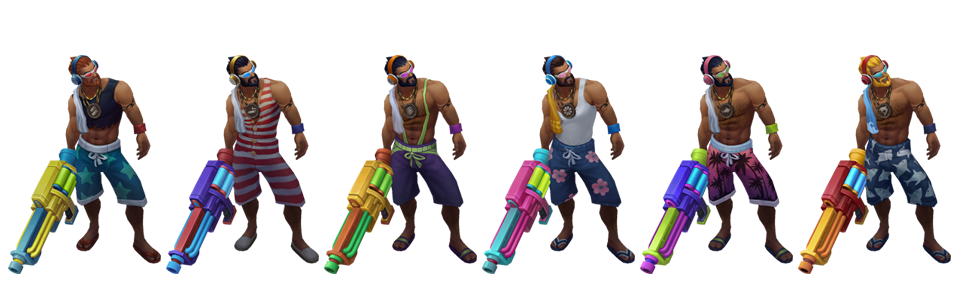 League of legends graves pool party png. Learn more chroma bundle
