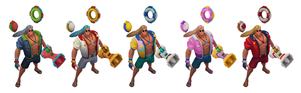 League of legends graves pool party png. Learn more taric chromas