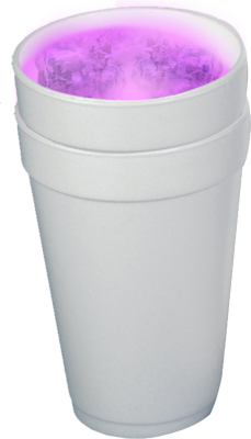 Purple lean png. Free double cup cliparts