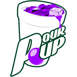 Purple lean png. Pour up cup by