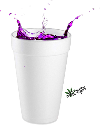 Lean drink png. In styrofoam psd official