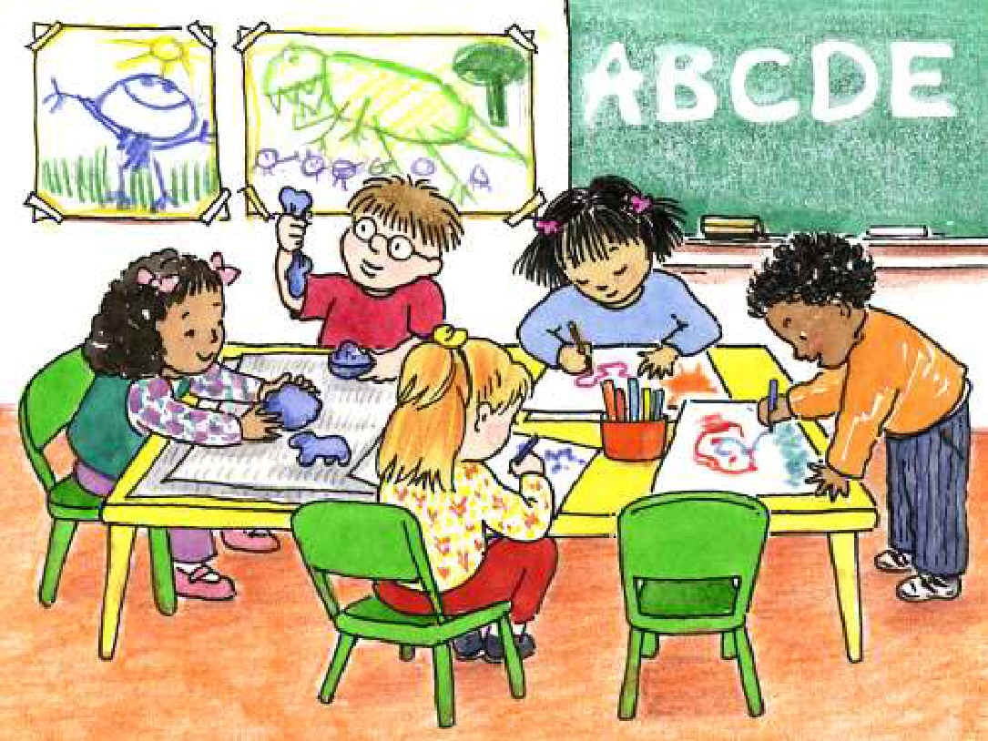 Classroom clipart early childhood classroom. Msuresourcesforteaching learning centers