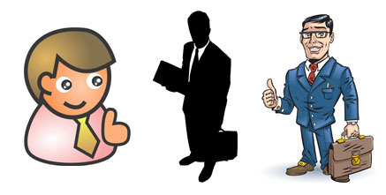 Learning clipart top management. Manager cilpart classy design