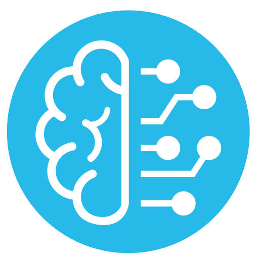 Learning vector abstract. Intelligence learn icon png