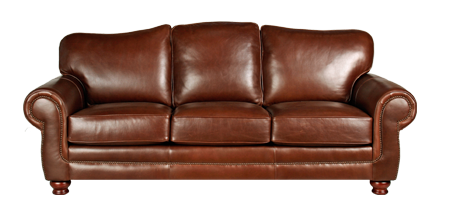 Sofa transparent brown. Leather creations furniture recliners
