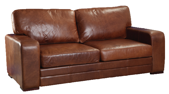 Leather couch png. Luca seater sofa quality