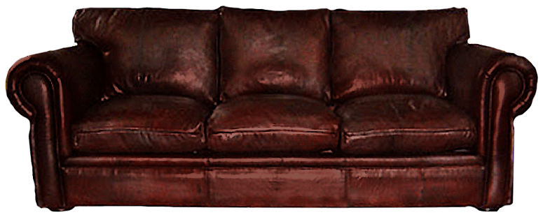 Leather couch png. Contemporary sofas made to