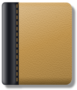 Leather vector brown