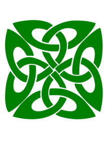 Leather vector design. Green pattern decoration image