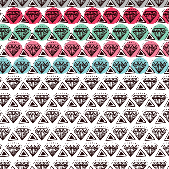 Leather vector pattern. Diamond photos by canva