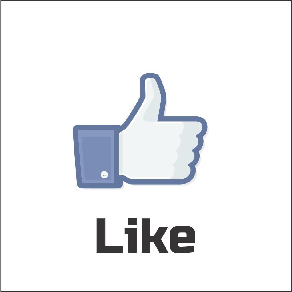 facebook like button png
