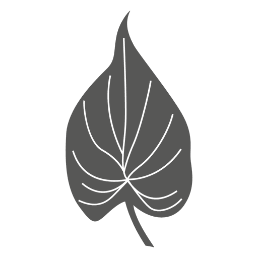 Cordate line sketch leaf. Leave vector silhouette picture free library
