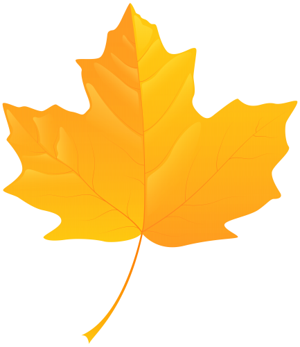 Blowing leaves png. Yellow leaf clip art