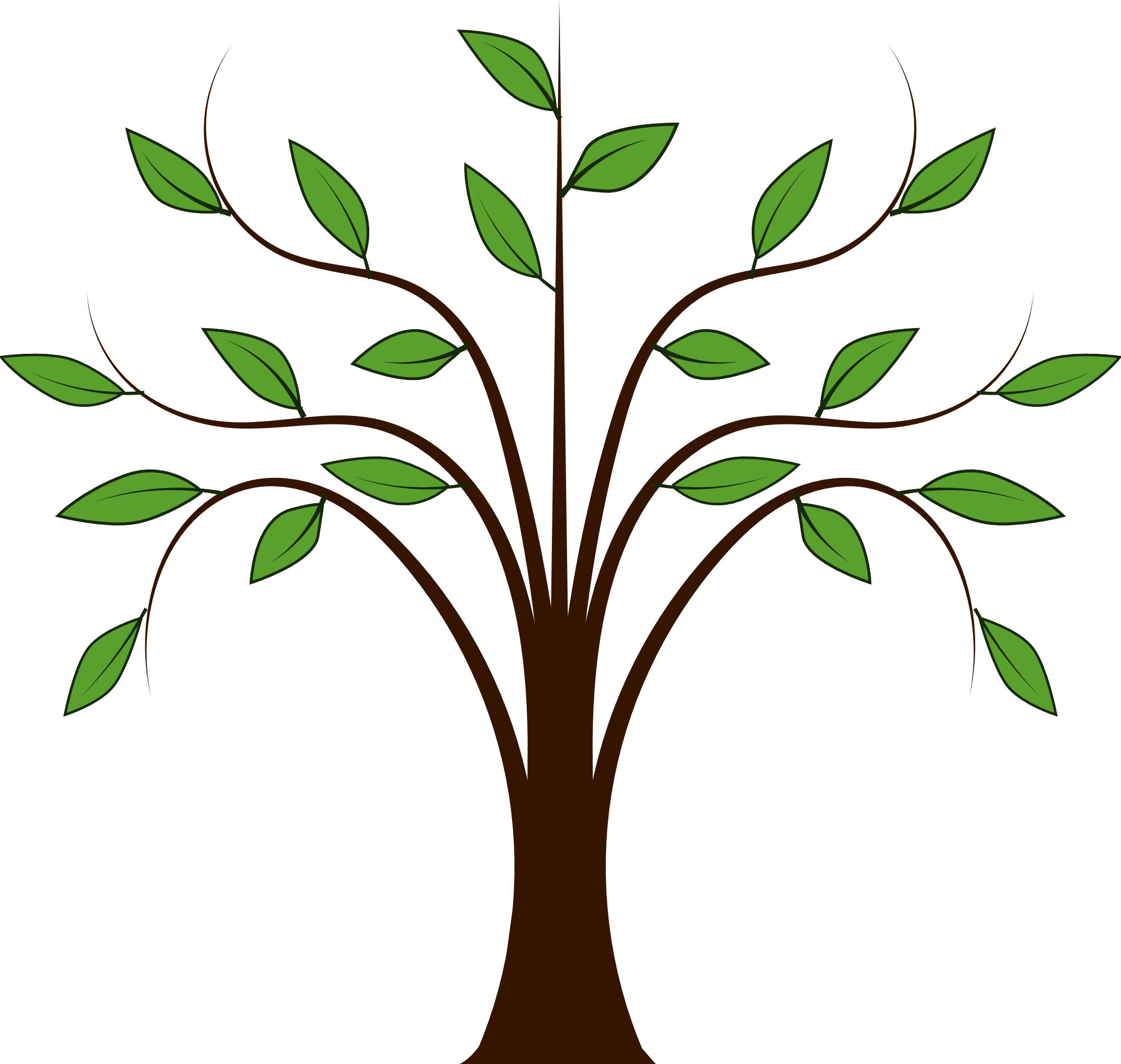 tree vector png