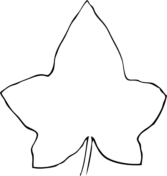 Line clip art at. Drawing leaf clip free download