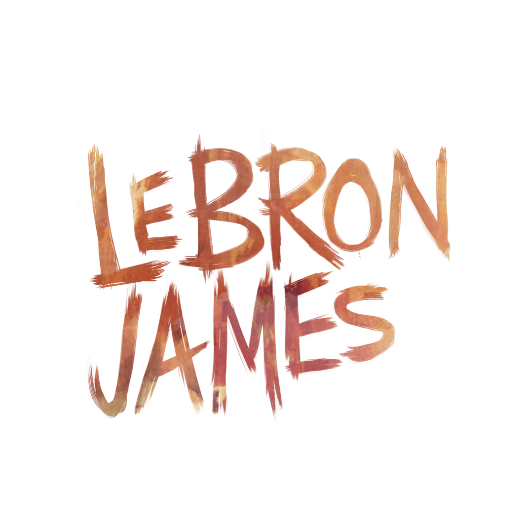 Lebron james signature png. On paper photo