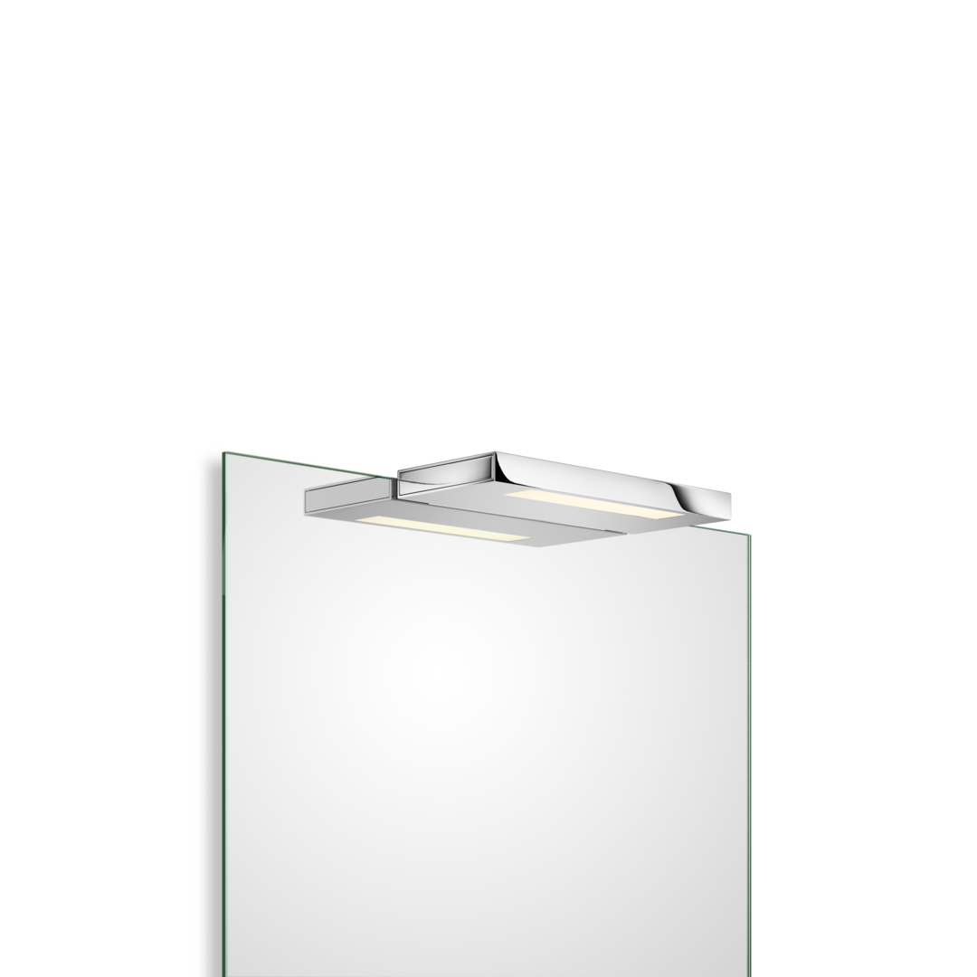 Led clip board. On light for mirror